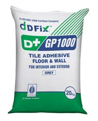 D+ Fix Tile Adhesive GP 1000