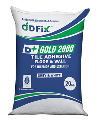 D+ Fix Tile Adhesive Gold 2000
