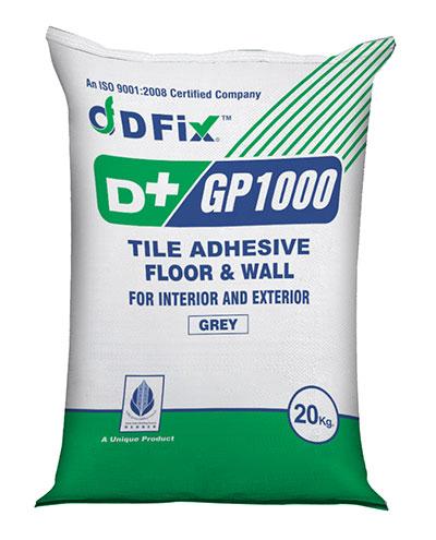 D+ Fix Tile Adhesive GP 1000